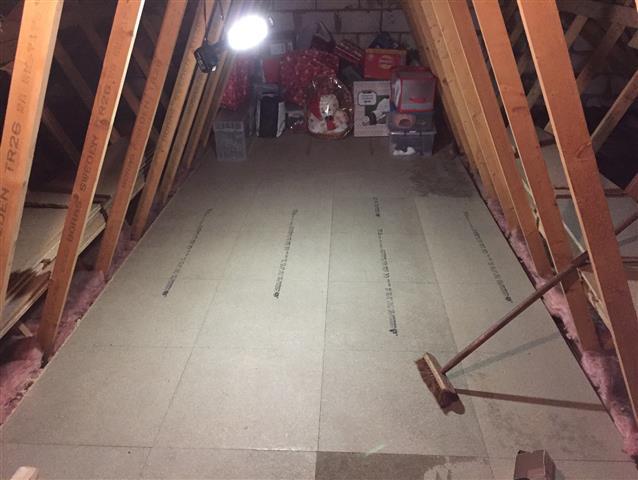 Loft Boarding Installation